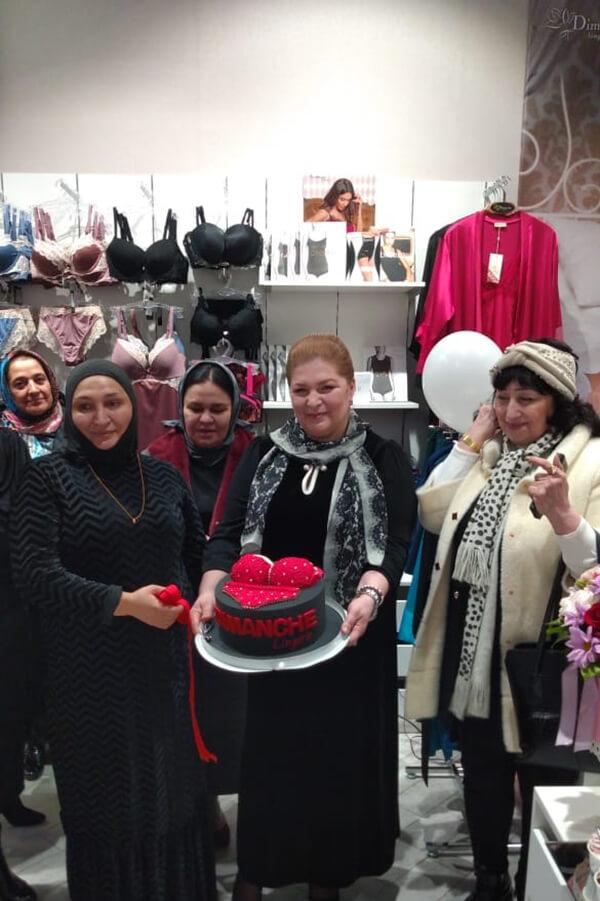 Магазин женского белья махачкале специальный массажер для спины